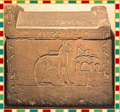 It is believed that these cats are descendants of the sacred cats of Egypt,